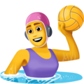 Woman Playing Water Polo on Facebook 4.0