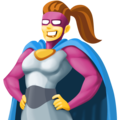 Woman Superhero on Facebook 4.0