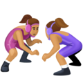 Women Wrestling, Type-4 on Facebook 4.0