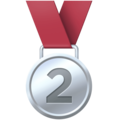 2nd Place Medal on Facebook 13.1