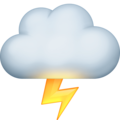 Cloud with Lightning on Facebook 13.1
