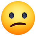 Confused Face on Facebook 13.1