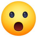 Face with Open Mouth on Facebook 13.1