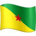 Flag: French Guiana on Facebook 13.1