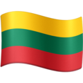 Flag: Lithuania on Facebook 13.1