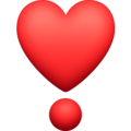Heart Exclamation on Facebook 13.1