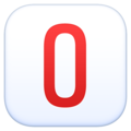 O Button (Blood Type) on Facebook 13.1