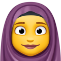 Woman with Headscarf on Facebook 13.1