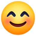 Smiling Face with Smiling Eyes on Facebook 13.1