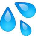 Sweat Droplets on Facebook 13.1