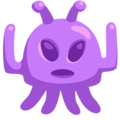 Alien Monster on Messenger 1.0