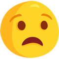 Anguished Face on Messenger 1.0