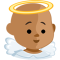 Baby Angel: Medium Skin Tone on Messenger 1.0
