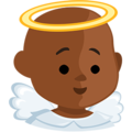 Baby Angel: Medium-Dark Skin Tone on Messenger 1.0