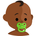 Baby: Medium-Dark Skin Tone on Messenger 1.0