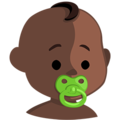 Baby: Dark Skin Tone on Messenger 1.0
