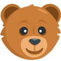 Bear Face on Messenger 1.0
