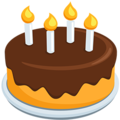 Birthday Cake on Messenger 1.0
