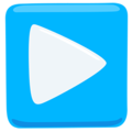 Play Button on Messenger 1.0
