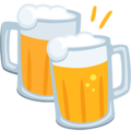 Clinking Beer Mugs on Messenger 1.0
