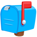 Closed Mailbox With Raised Flag on Messenger 1.0