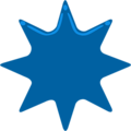 Eight-Pointed Star on Messenger 1.0