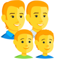 Family: Man, Man, Boy, Boy on Messenger 1.0