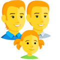 Family: Man, Man, Girl on Messenger 1.0