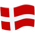 Flag: Denmark on Messenger 1.0