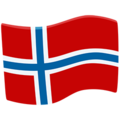 Flag: Norway on Messenger 1.0