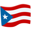 Flag: Puerto Rico on Messenger 1.0