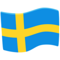 Flag: Sweden on Messenger 1.0