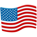 Flag: United States on Messenger 1.0