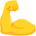 Flexed Biceps on Messenger 1.0