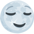 Full Moon Face on Messenger 1.0