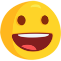 Grinning Face on Messenger 1.0