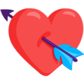 Heart With Arrow on Messenger 1.0