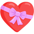Heart With Ribbon on Messenger 1.0