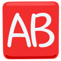 AB Button (Blood Type) on Messenger 1.0