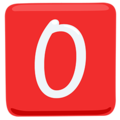 O Button (Blood Type) on Messenger 1.0