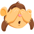 See-No-Evil Monkey on Messenger 1.0