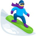 Snowboarder on Messenger 1.0