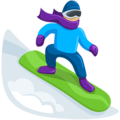 Snowboarder: Medium-Light Skin Tone on Messenger 1.0