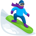 Snowboarder: Medium Skin Tone on Messenger 1.0