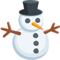 Snowman Without Snow on Messenger 1.0