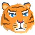 Tiger Face on Messenger 1.0