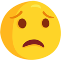 Worried Face on Messenger 1.0