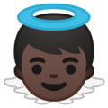 Baby Angel: Dark Skin Tone on Google Android 9.0