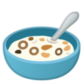 Bowl With Spoon on Google Android 9.0