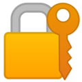 Locked With Key on Google Android 9.0